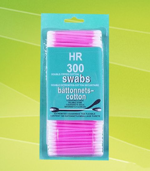 plastic stick cotton swab